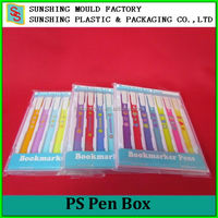 Colorful Wholesale Hard Plastic Tool Storage Case Pen Box