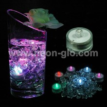 Submersible LED Flashing Multi-color Tea Light