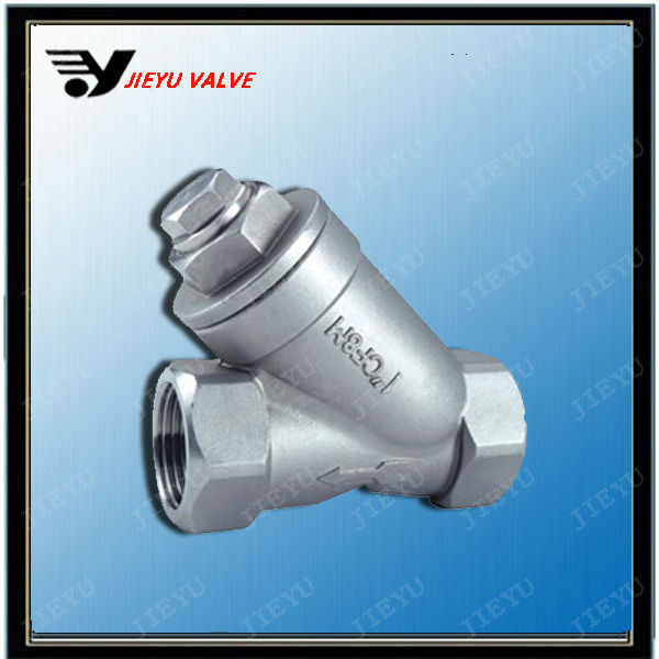 Stainless Steel Y-type Strainer Female Threaded Oil Water Strainer