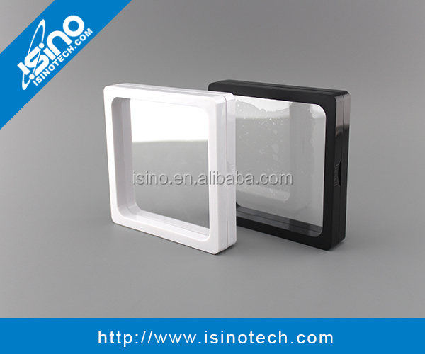 Clear Plastic Membrane Photo Frame Display Coin Collection Box