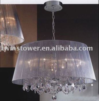 luxury crystal chandelier lamp