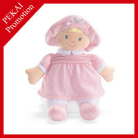Cute baby soft dolls toys for girl
