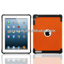 rhinestone for ipad cover case,rhinestone case for new ipad in good quality