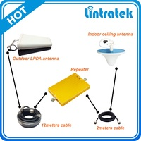 Lintratek 3G 4G LTE repeater CDMA850/AWS cellphone signal booster 850/1700/2100mhz booster