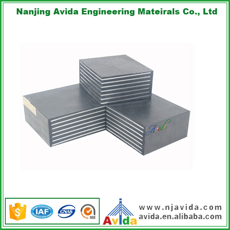 Elastomeric Earthquake Resistant Neoprene Bearing Pads Price
