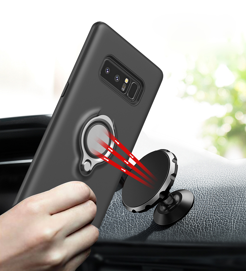 Latest High Quality for samsung galaxy note 8 phone case with ring holder