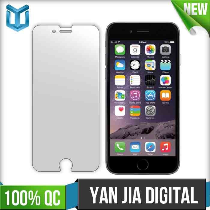 Full Cover HD Clear Aluminium Alloy Tempered Glass Screen Protector Film for iPhone6