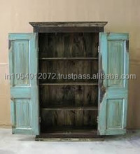 Reclaimed wood wardrobe
