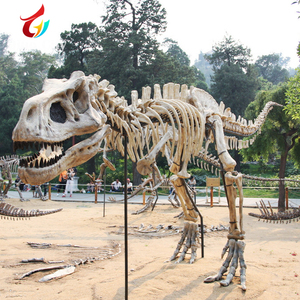Waterproof Fiberglass Simulation Dinosaur Skeleton Outdoor