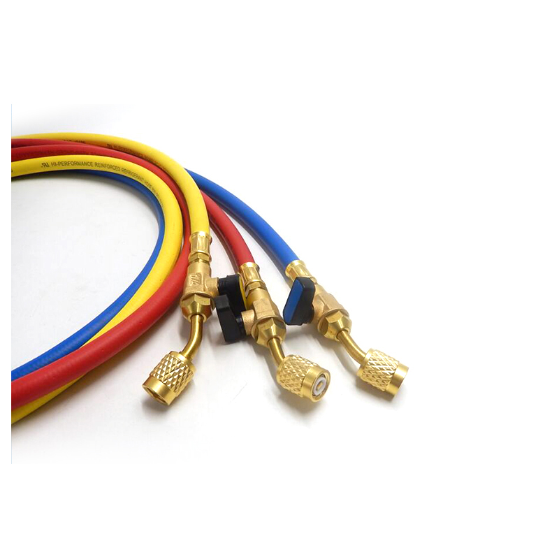 YUTE sae j2196 colors smooth freon r134a refrigerant charging hose