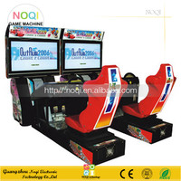 NQR-C07 42''LCD 3D Outrun Racing coin operated game machine 3d video car racing game machine driving simulator