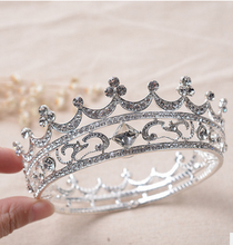 hot sale nevolty birthday party cake topper decoration Tiara / princess crown for weeding and party