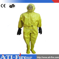 Fireman safety chemical protective firefighting clothing