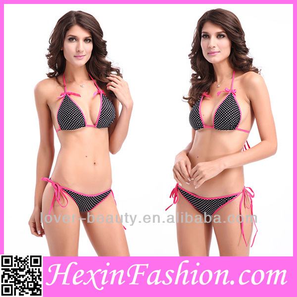Wholesale Beauty Black Sex Sling Bikini