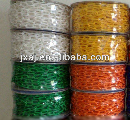 Color Safety Plastic Chain