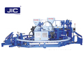 JIC612A PVC 2 color PVC Rain boot Injection machine