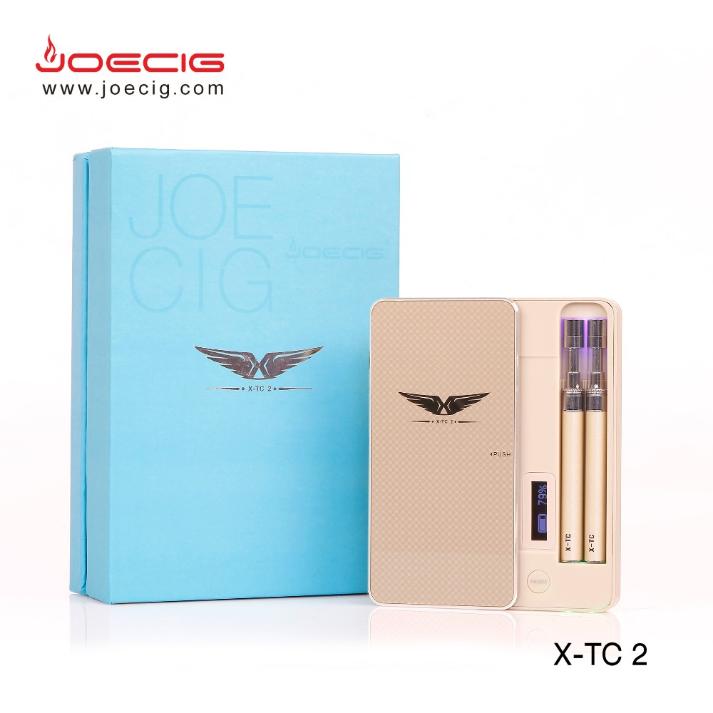 Alibaba gold supplier free sample avaliavle new vape pen pcc case Joecig X-TC2 in stock