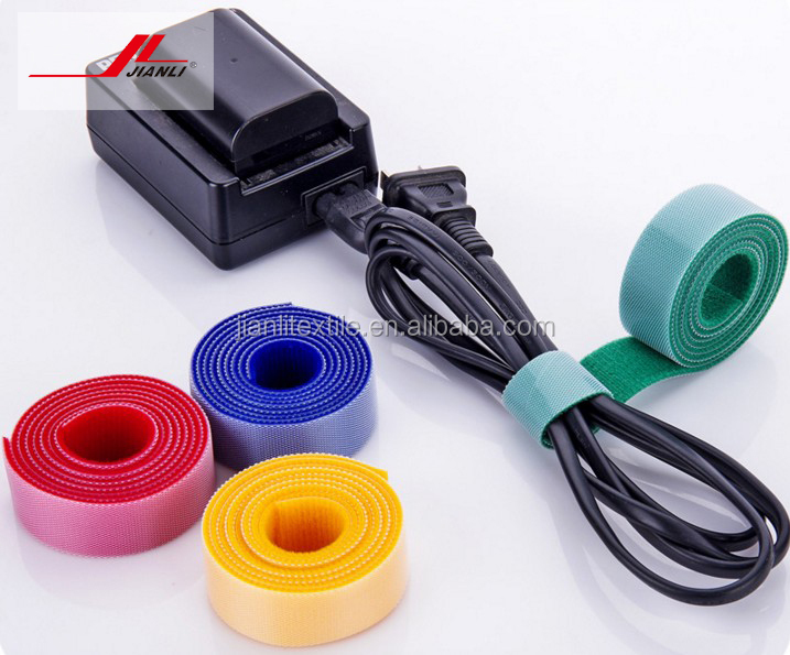 Popular back to back double side adhesive tape plastic hook loop tape