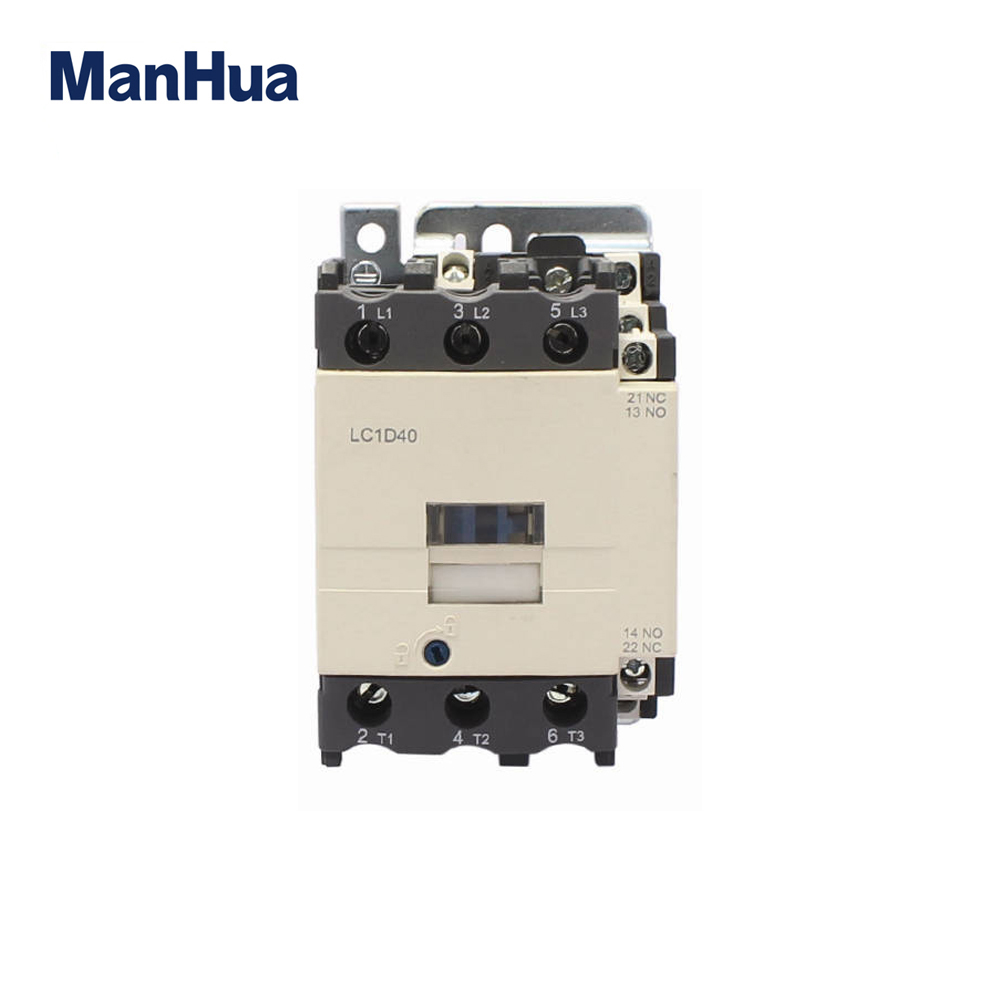 Manhua Lc1-d40 3p/4p Telemecanique Wiring Diagram Electrical ... on