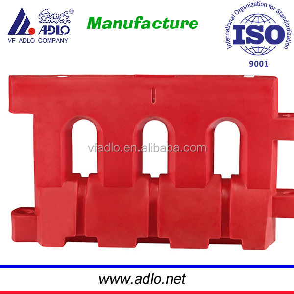 water filled plastic traffic barrier Plastic Traffic Barrier /road safety crowd control block
