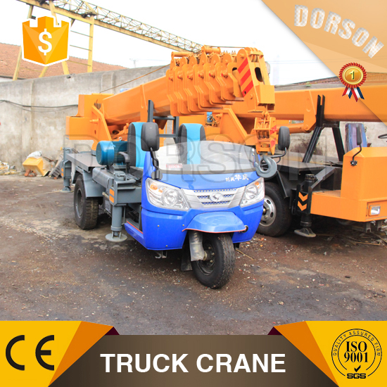 construction rural type 3 ton truck crane/tricycle crane for sale