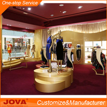 Women garment small retail shop design clothing store fixtures