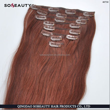 Wholesale Price Directly Factory Price Best Quality 100% Remy Human Hair hair clip making machine