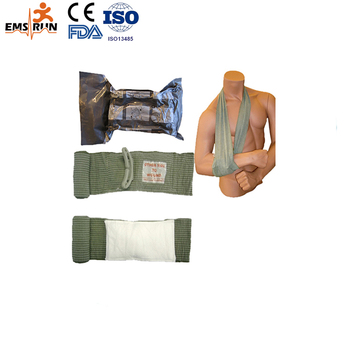high quality emergency hemostatic Trauma bandages Military solider Training Injuries sterilizated bandage