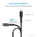 New design usb Data cable Charging micro usb cable black cable for android