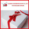 2015saddle stitched grosgrain ribbon decorative bow/ stitch grosgrain ribbon gift packaging bow