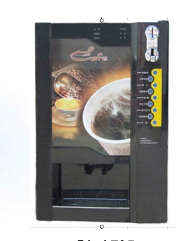 9 - premixed coffee vending machine