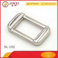 High end 1 inch small metal square buckle wholesale