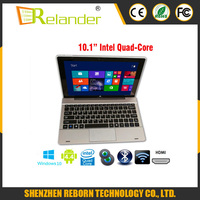 Tablet 10 Inch Windows 10 And Android 4.4 Tablet PC IPS 2G 32G Laptop Computer