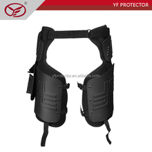 fireproof military riot control paded thigh protector
