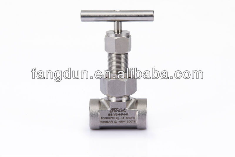 Union Bonnet Needle Valves, Isolation Valve