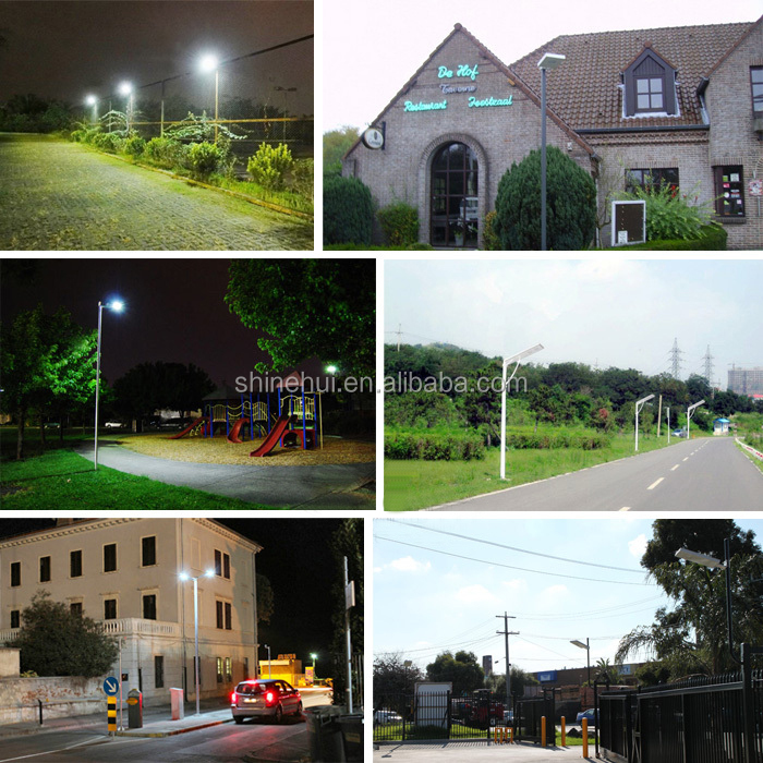 80W Factory Price Integrated All In One Solar Power LED Street Light