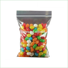 Best quality self seal zip top clear bag /OPP transparent film clear poly bag/plastic food bag