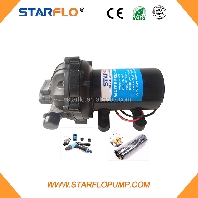 STARFLO FL-31 24V DC 12.5LPM 17PS low pressure high capacity pump with <strong>motor</strong> voltage