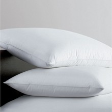 Hotel white cotton cover organic pillow, microbeads pillow 80x50