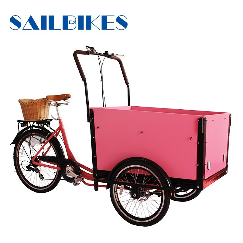 electric 3 wheel cargo bike
