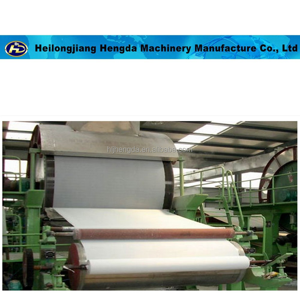 Waste paper recycling 787mm toilet jumbo roll tissue paper making machine price