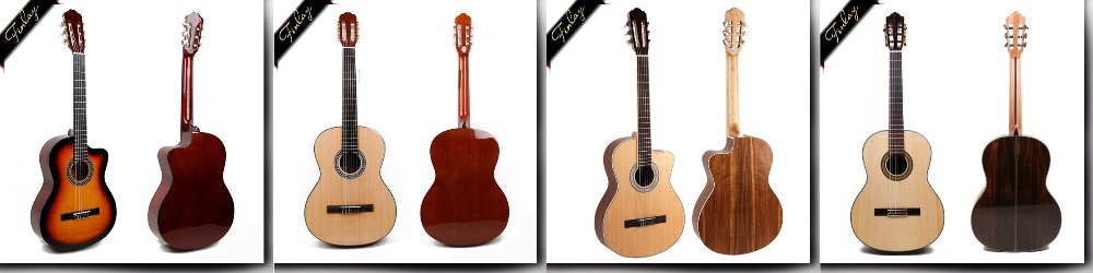 high quality rosewood all solid wood classical guitar FB-39S