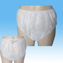 disposable paper underwear,spa disposable underwear,disposable lingerie/brief/underwear