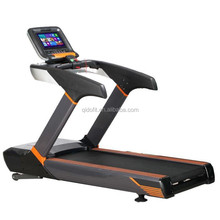 2017 Commercial Treadmill with Heart Rate Sensor Touch Screen And TV/Factory Fitness Gym Equipment