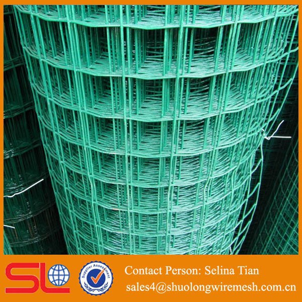 China Supply Green 1inch X 2 Inch 14 Gauge Vinyl Coated Welded Wire ...