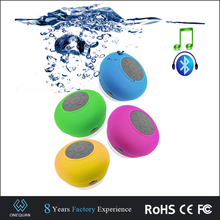 Portable subwoofer ducha ventosa impermeable Altavoz Bluetooth wireless