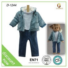 fashion rag doll clothes/clothes for small dolls for 18 inch vinyl doll /Wholesale price doll clothes china