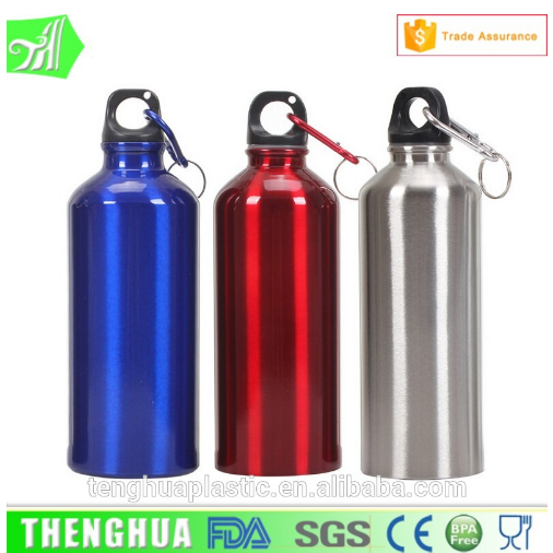 free sample 1 L big metal water bottle sports aluminium bottle