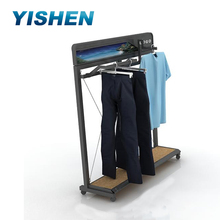 Names for clothing store display stand,garment shelves store custom clothing racks