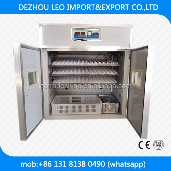 528 chicken eggs best selling commercial automatic egg incubator /popular in Tanzania/kenya